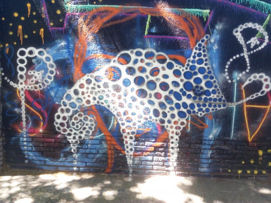 Wallspot - DALA @daliladuartedrd -  - Barcelona - Selva de Mar - Graffity - Legal Walls -