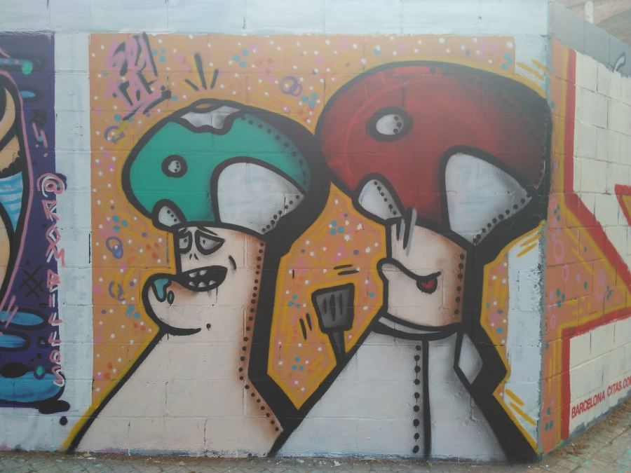 Wallspot - evalop - evalop - Project 19/05/2017 - Barcelona - Poble Nou - Graffity - Legal Walls - Illustration - Artist - setabcn