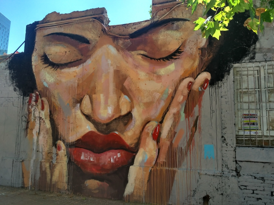 Wallspot - evalop - evalop - Project 05/07/2017 - Barcelona - Western Town - Graffity - Legal Walls - Illustration - Artist - manumanu