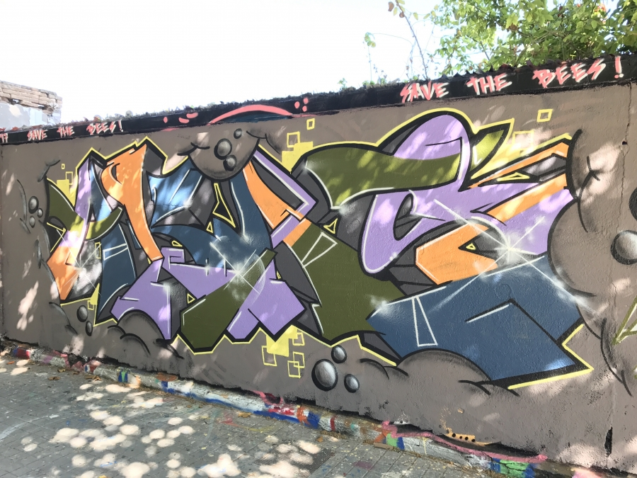 Wallspot - Pablo Aka -  - Barcelona - Agricultura - Graffity - Legal Walls -