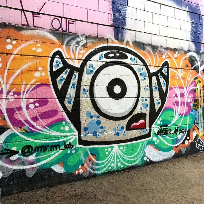 Wallspot - Mr.M - Drassanes - Mr.M - Barcelona - Drassanes - Graffity - Legal Walls - Illustration
