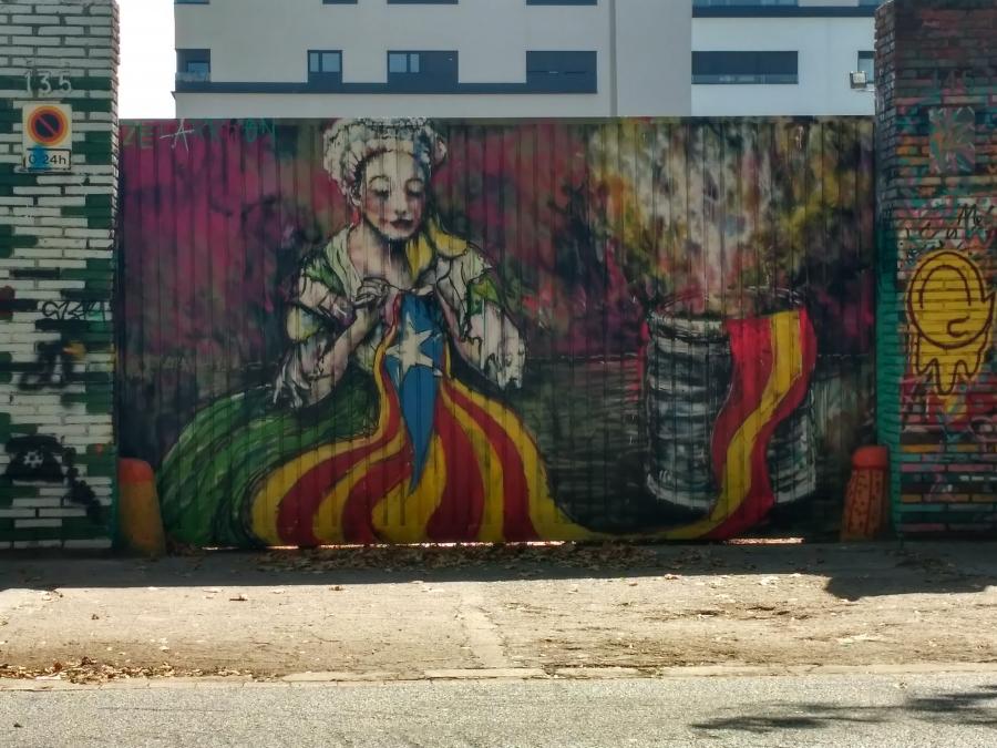 Wallspot - evalop - evalop - Project 27/07/2017 - Barcelona - Selva de Mar - Graffity - Legal Walls - Illustration