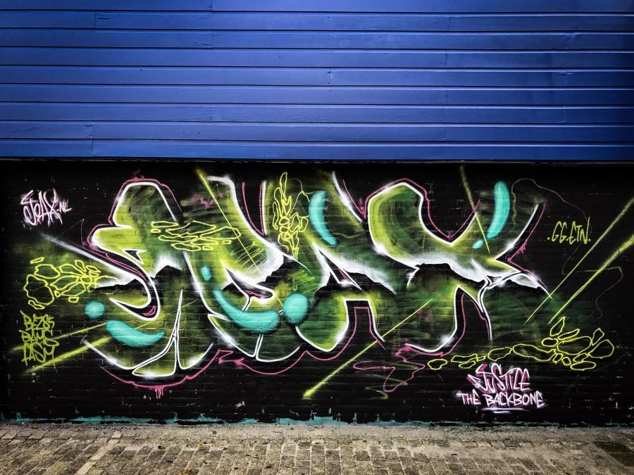 Wallspot - Joax -  - Rotterdam - Croos - Graffity - Legal Walls -