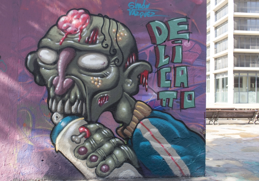Wallspot - cbs350 - Simón Vazquez - Barcelona - Tres Xemeneies - Graffity - Legal Walls - Illustration