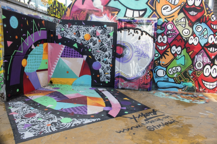 Wallspot - cbs350 - Tim Marsh - Barcelona - Tres Xemeneies - Graffity - Legal Walls - Illustration