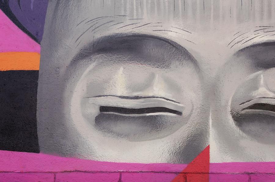Wallspot - Magda Ćwik - Psyched Up mural  - Barcelona - Selva de Mar - Graffity - Legal Walls - Illustration