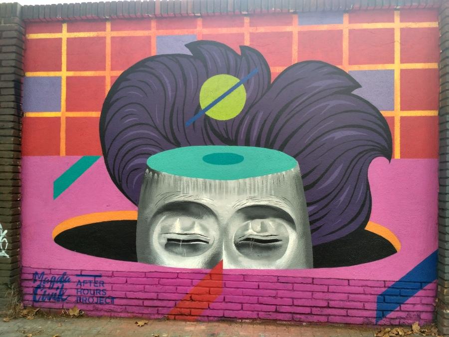 Wallspot - evalop - evalop - Project 09/08/2017 - Barcelona - Selva de Mar - Graffity - Legal Walls - Illustration - Artist - Magda Ćwik