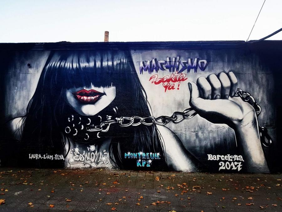 Wallspot - Espion - Selva de Mar - Espion - Barcelona - Selva de Mar - Graffity - Legal Walls - Letters, Illustration