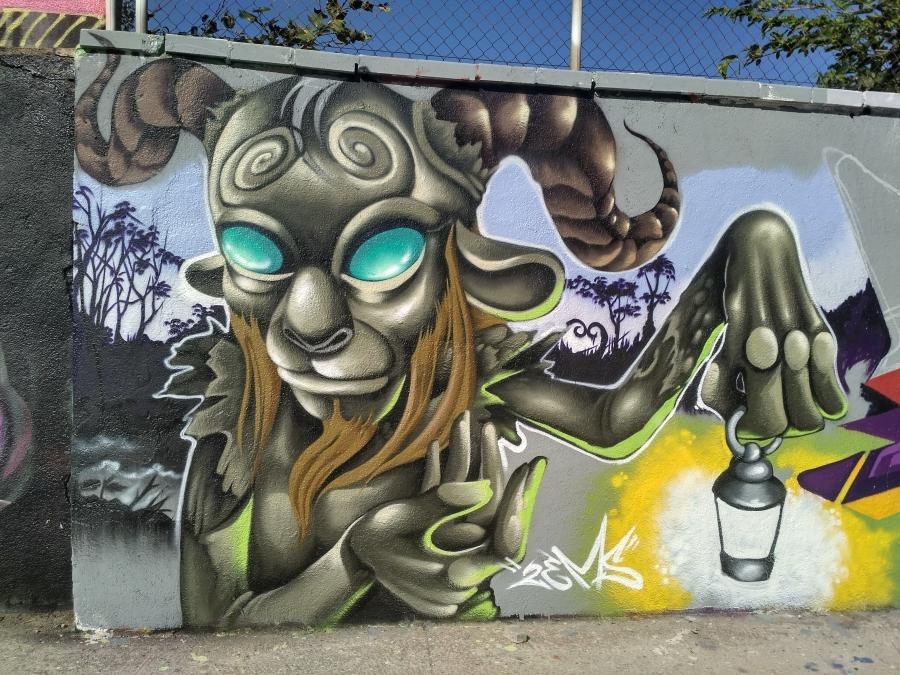 Wallspot - evalop - evalop - Project 17/08/2017 - Barcelona - Agricultura - Graffity - Legal Walls - Illustration