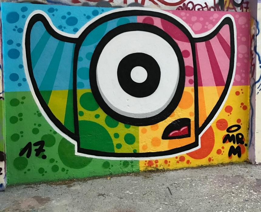 Wallspot - Mr.M - Agricultura - Mr.M - Barcelona - Agricultura - Graffity - Legal Walls -