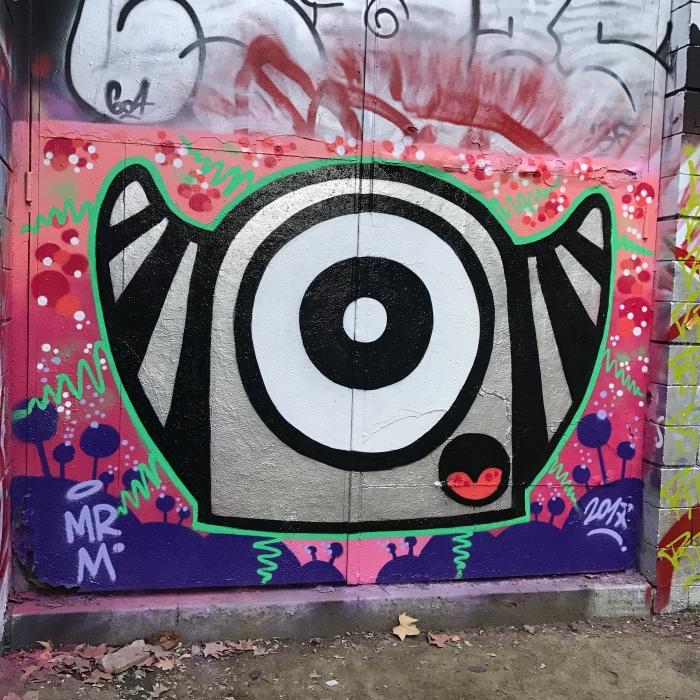 Wallspot - Mr.M -  - Barcelona - Drassanes - Graffity - Legal Walls -