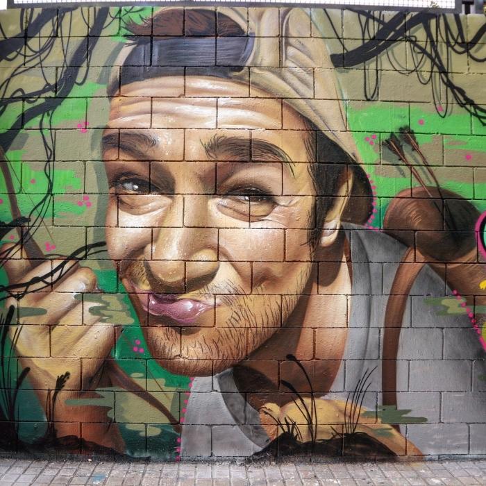 Wallspot - senyorerre3 - Art Conse  - Barcelona - Drassanes - Graffity - Legal Walls - Illustration