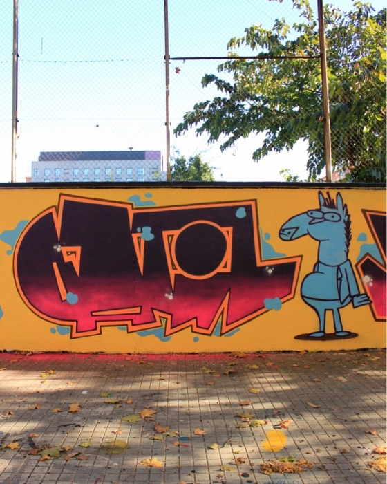 Wallspot - 2000nce -  - Barcelona - Agricultura - Graffity - Legal Walls -