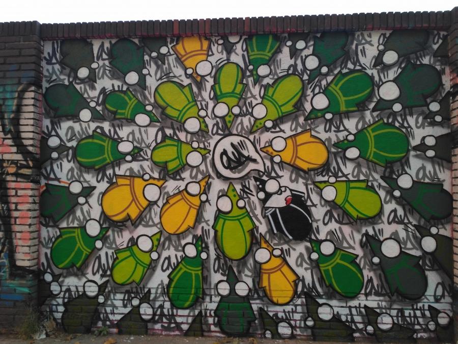Wallspot - evalop - Ona - Barcelona - Selva de Mar - Graffity - Legal Walls - Illustration - Artist - ONA