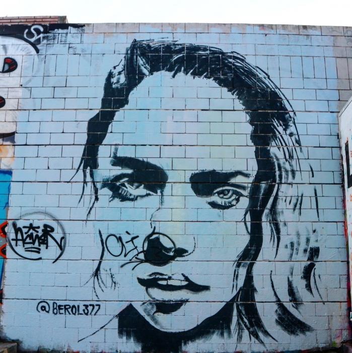 Wallspot - senyorerre3 - Art Berol377 - Barcelona - Drassanes - Graffity - Legal Walls - Illustration - Artist - Berol377