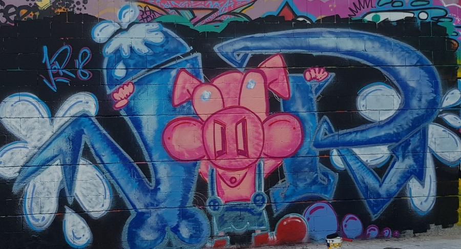 Wallspot - Jodete -  - Barcelona - Drassanes - Graffity - Legal Walls -