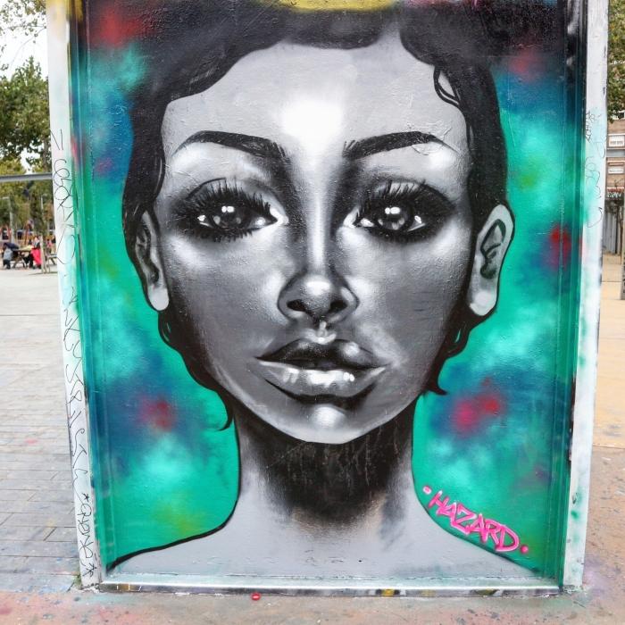 Wallspot - senyorerre3 - Art Hazard  - Barcelona - Tres Xemeneies - Graffity - Legal Walls - Illustration - Artist - Hazard