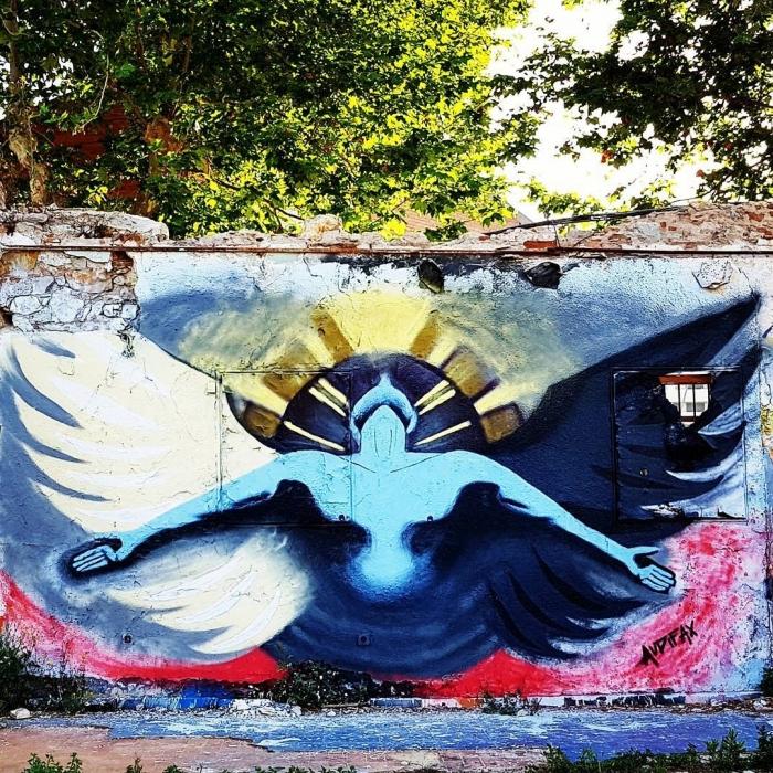 Wallspot - senyorerre3 - Art Audifax - Barcelona - Western Town - Graffity - Legal Walls - Illustration - Artist - Audifax