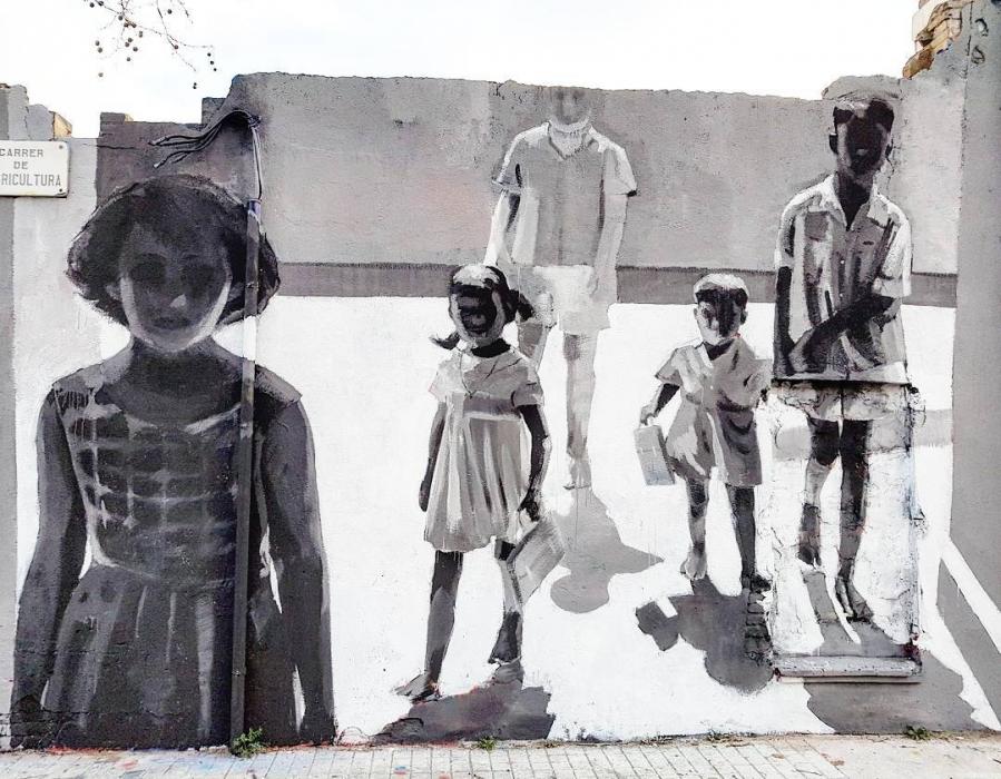 Wallspot - senyorerre3 - Art Miquel Wert  - Barcelona - Agricultura - Graffity - Legal Walls - Illustration - Artist - Miquel Wert