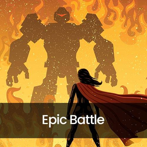 Light & Darkness - Epic Battle