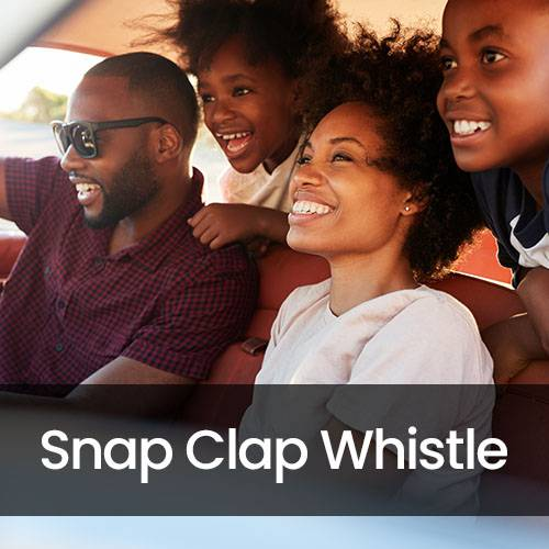Snap Clap and Whistle