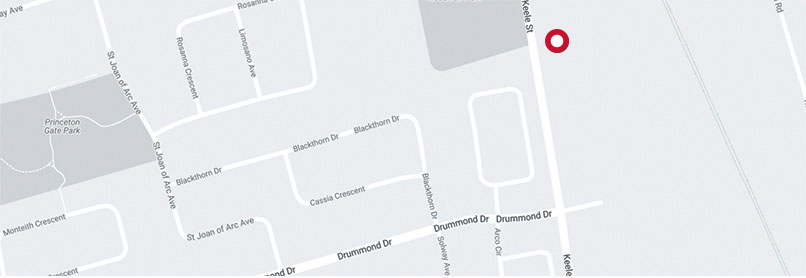 map of vaughan location