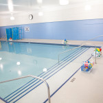 pool with uv water sanitation system