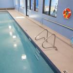 making waves swiming pool