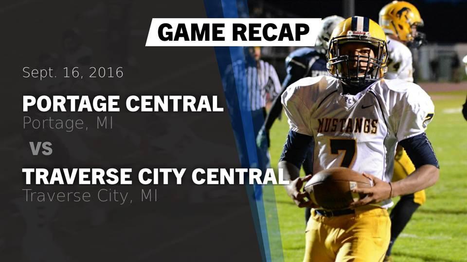 Portage Central Hs Football Video Recap Portage Central Vs
