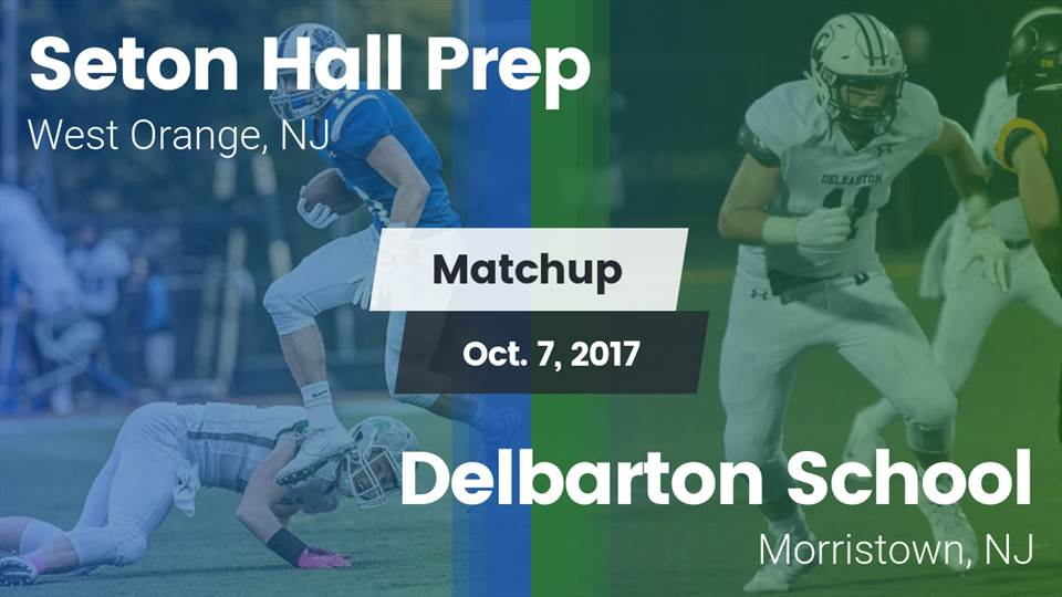 Seton Hall Prep Hs Football Video Matchup Seton Hall Prep Vs