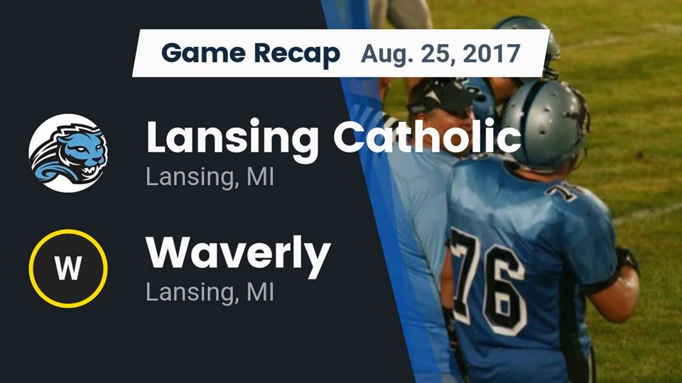 Lansing Catholic Hs Football Video Recap Lansing Catholic Vs