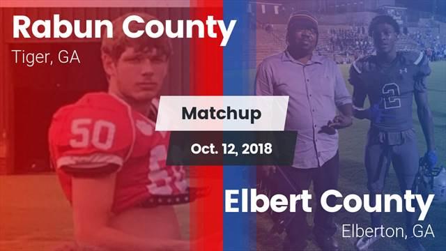 Football Game Recap: Rabun County vs  Elbert County - MaxPreps