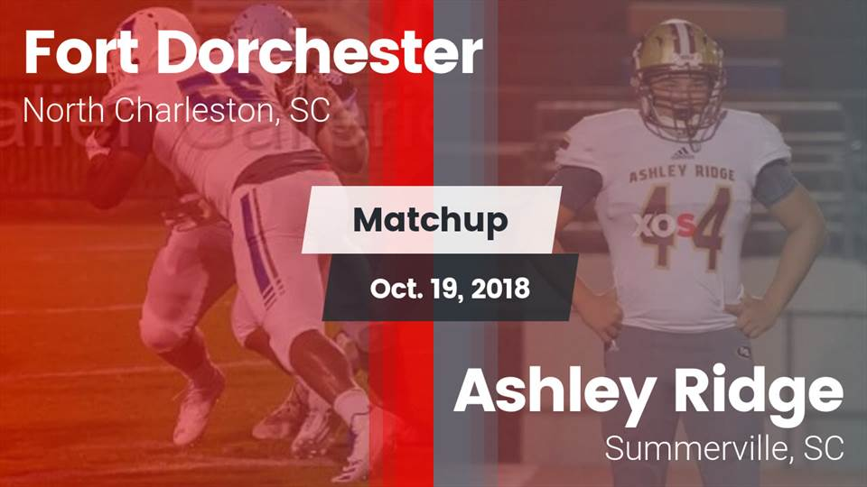 Fort Dorchester Hs Football Video Matchup Fort Dorchester Vs
