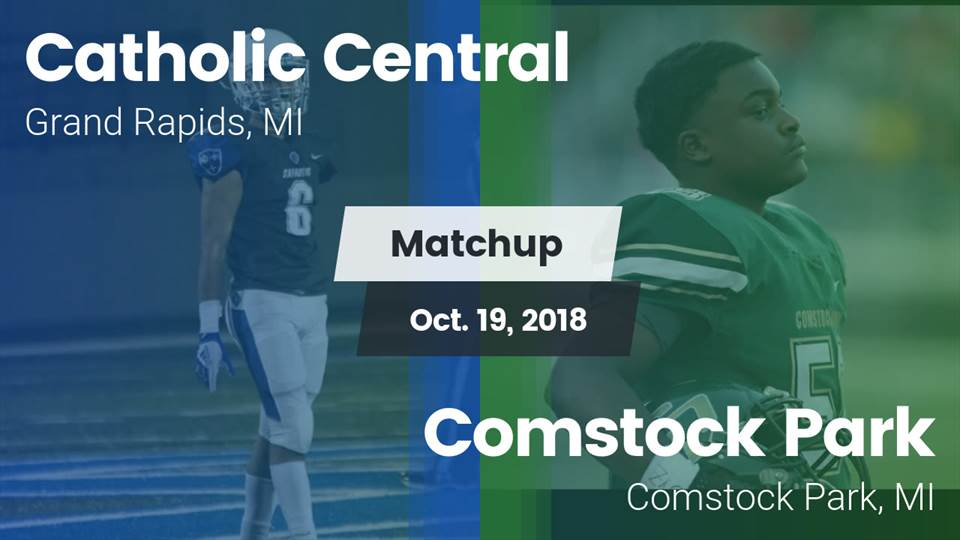 Catholic Central Hs Football Video Matchup Catholic Central Vs