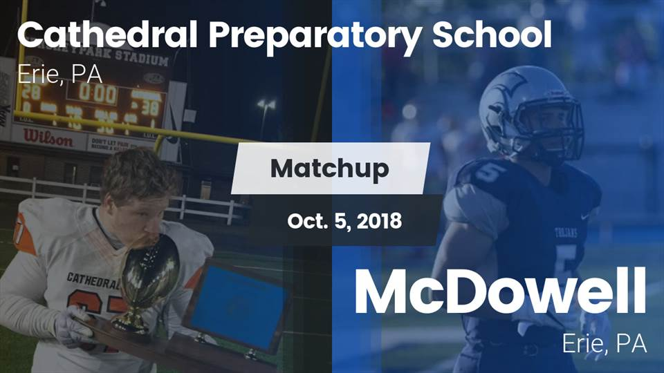 Cathedral Prep Hs Football Video Matchup Cathedral Prep Vs