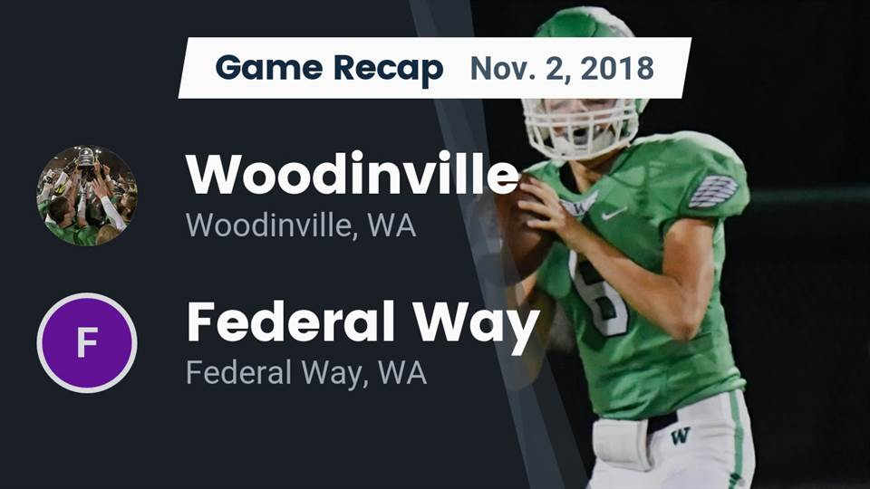 Woodinville Hs Football Video Recap Woodinville Vs Federal Way