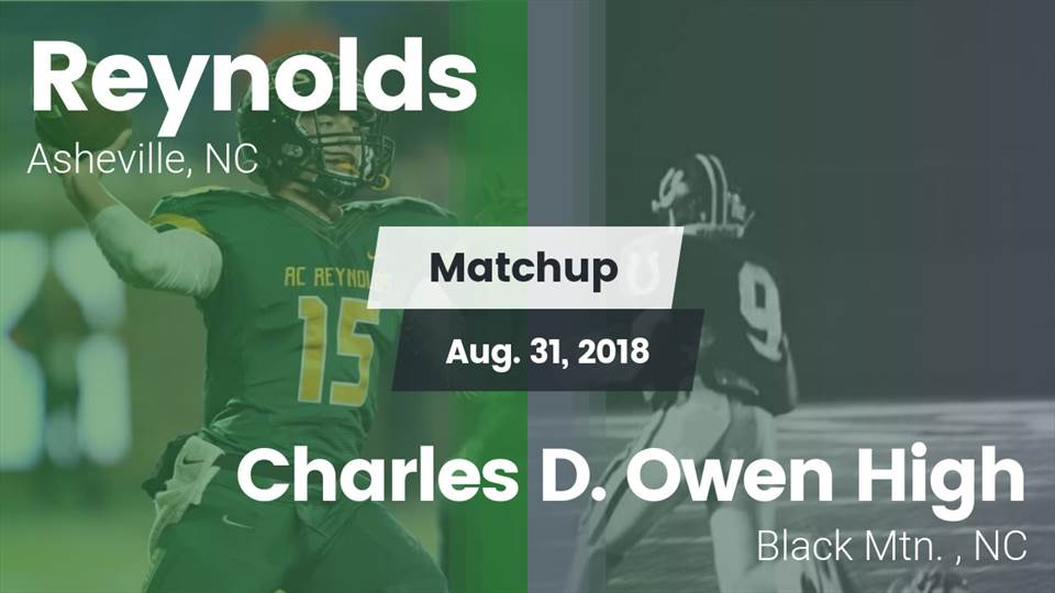 A C Reynolds Hs Football Video Matchup Reynolds Vs Charles D