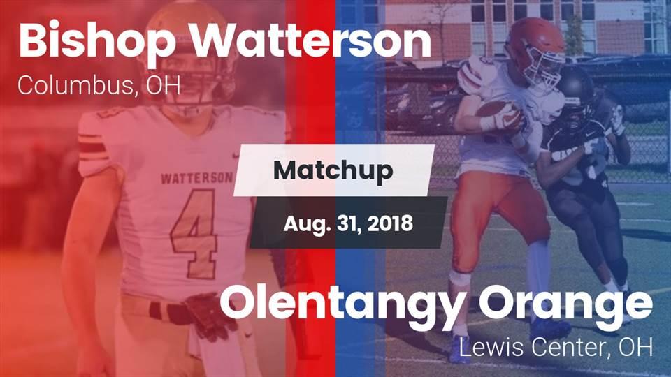 Bishop Watterson Hs Football Video Matchup Bishop Watterson Vs