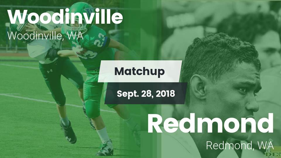 Woodinville Hs Football Video Matchup Woodinville Vs Redmond 2018