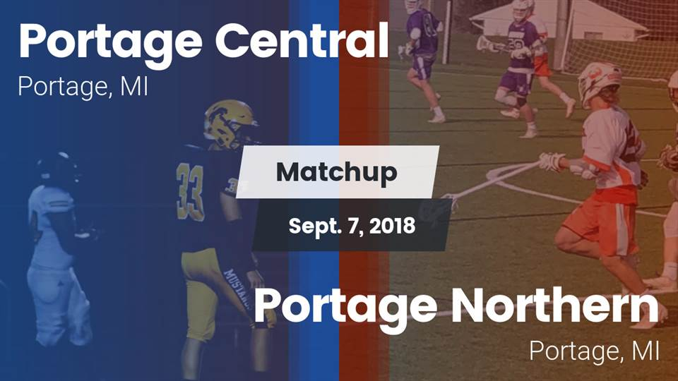 Portage Central Hs Football Video Matchup Portage Central Vs