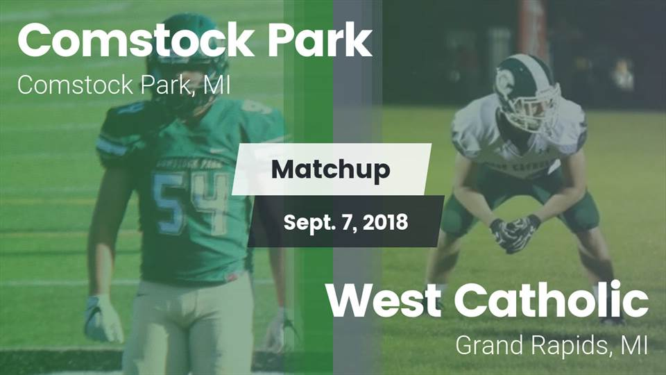 Comstock Park Hs Football Video Matchup Comstock Park High Vs