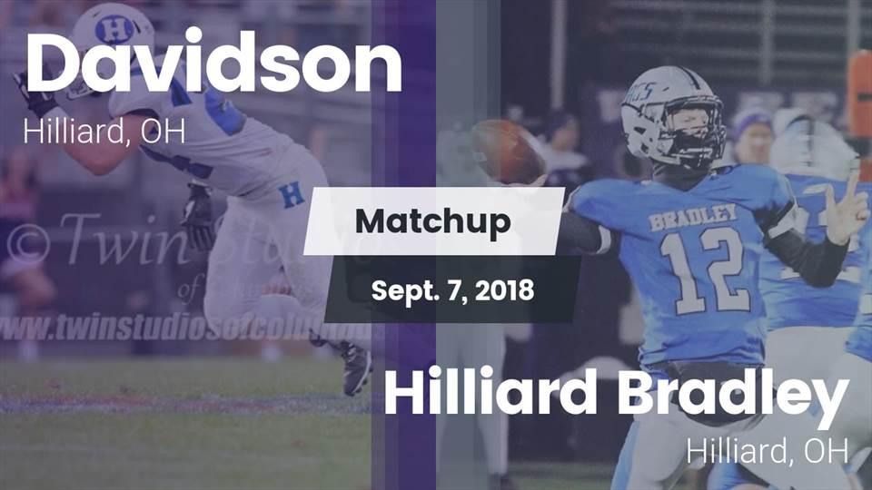 Hilliard Davidson Hs Football Video Matchup Davidson Vs Hilliard