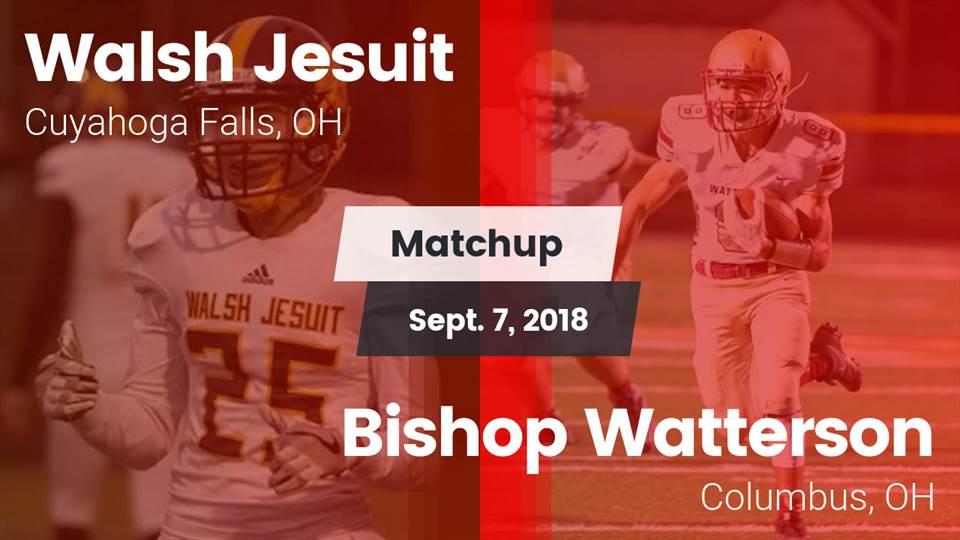 Walsh Jesuit Hs Football Video Matchup Walsh Jesuit Vs Bishop