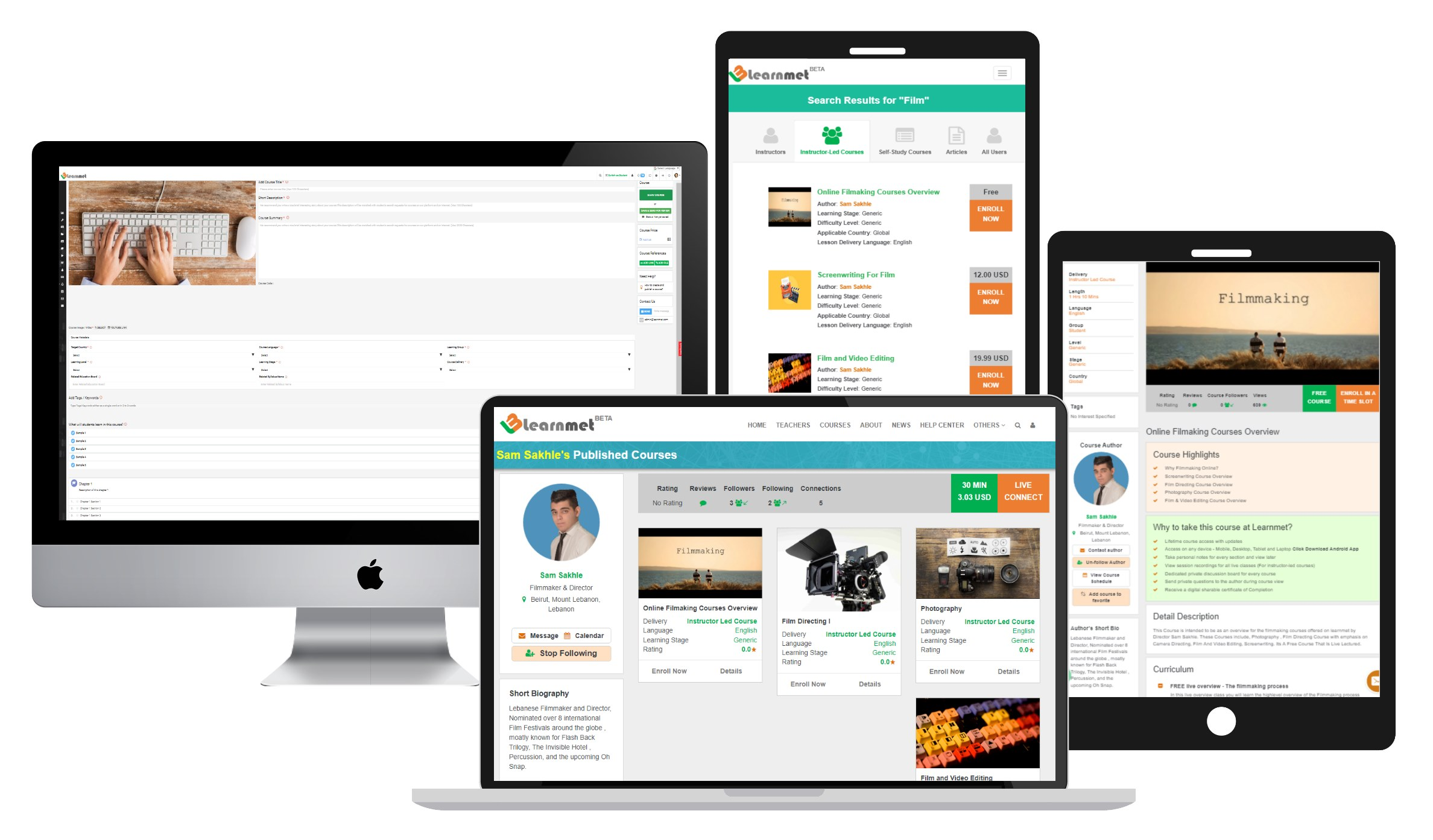 Learnmet Course Marketplace