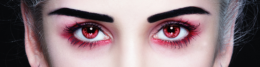 THE 411 ON HALLOWEEN CONTACT LENSES