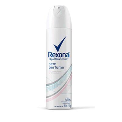 Desodorante Antitranspirante Aerosol Rexona Feminino Sem Perfume