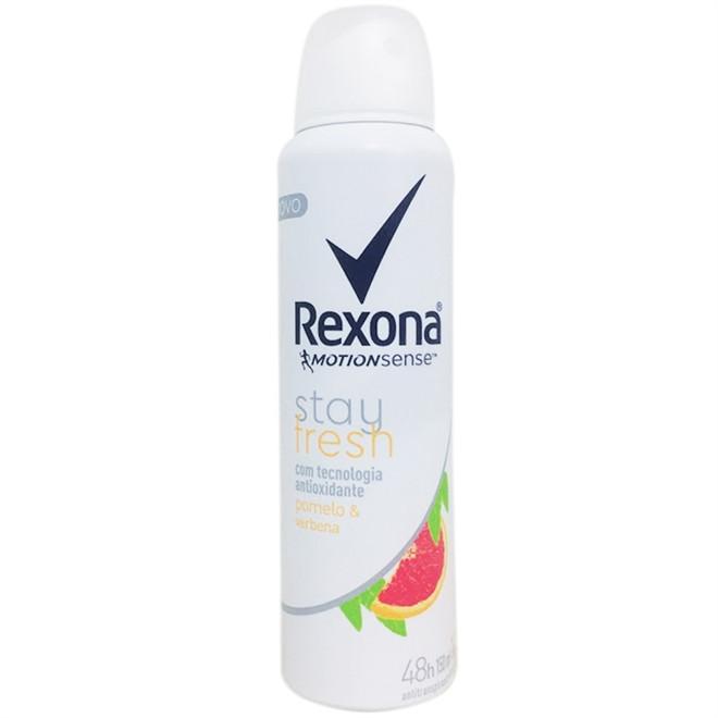 Desodorante Aerosol Rexona Feminino Stay Fresh Pomelo e Verbena
