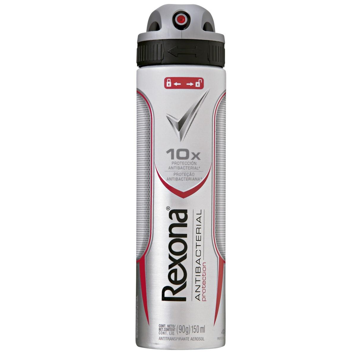 Desodorante Antitranspirante Aerosol Rexona Men