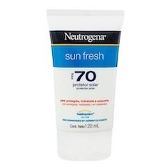 Protetor Solar Neutrogena Sun Fresh  FPS 70
