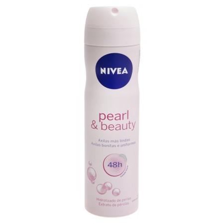 24149af5e Desodorante Nivea. Aerosol Feminino Pearl   Beauty 150ml